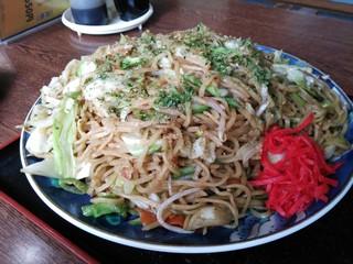南ぷす食堂 - 超大盛り焼きそば