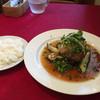 レストラン ココット - 料理写真:ランチ(ハンバーグ 和風ソース)