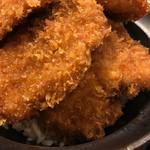 新潟カツ丼 タレカツ - 二段タレカツ丼