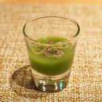 ALLIE - 胡瓜と秋田県の蓴菜