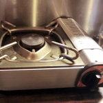 羊や カブト - 一人鍋の準備