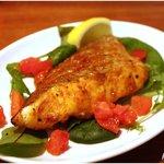 ムーナ - 今日のオススメ 真鯛のスパイス焼き 630円