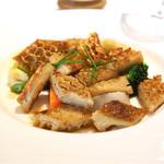 レストラン アラジン - トリップのムニエルと茹野菜