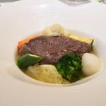 レストラン アラジン - シンプル牛頬肉と野菜のポトフー