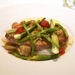 レストラン アラジン - スペイン産栗豚ロース肉