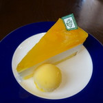 珈琲哲學 - オレンジヨーグルトムースケーキ