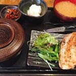 68362022 - 大山鶏の香味刺身ステーキ定食 ¥880