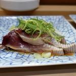 家庭料理 小川 - カツオのタタキ