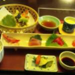 きくすい - お刺身天ぷら定食