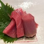 第三春美鮨 - シビマグロ 128kg 腹上一番 赤身 熟成3日 定置網 宮城県石巻