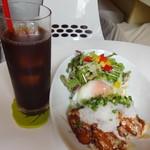 HAMA CAFE - チキン南蛮丼 ドリンクセット