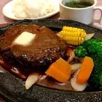 食道園 - ハンバーグ定食