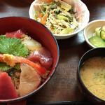 割烹 川松 - 海鮮丼\1188(17-06)