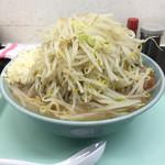 らーめん 蓮 - 料理写真:ラーメン、大盛り、ヤサイ、にんにく