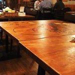 成都 - テーブル毎に違う絵