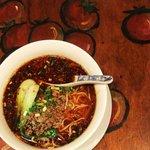成都 - 四川風激辛坦々麺