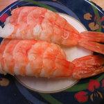 活魚寿司 - えび105円