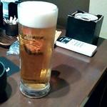 手作り料理と地酒 おと - 生ビール