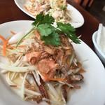 ベトナム料理レストラン 333 - ランチのパパイヤサラダ