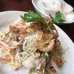 ベトナム料理レストラン 333 - ランチの鶏肉サラダ