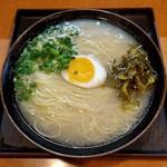 ラーメン櫻島 - 料理写真:素ラーメン(600円)