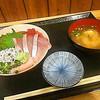 ふじやす食堂 - 料理写真:三色丼 味噌汁