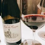ラチュレ - Domaine le Clos des Cazaux / Vaqueyras Cuvee des Templier 2013。ローヌの赤だが柔らかなタンニンで濃密さもある。