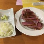 ラ・フレッチャ - 薬味とマグレ鴨
