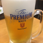 ぎょうざの満洲 - 生ビール特価 378円