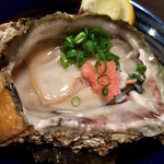 日本酒スローフード とやま方舟 - 岩牡蠣890円