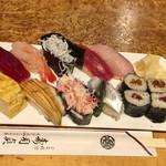 寿司貞 - 握り寿司限定1.5人前