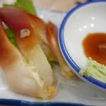 立呑み晩杯屋 - ホッキ刺身150円