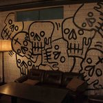 PROVO - 華麗に壁に描かれてます