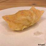J一行樹 - 料理写真:ズワイガニ湯葉包み揚げ