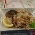 かみ風船 - 椎茸の塩焼き・480円。