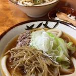 蔵ノ介 - 料理写真:肉きんぴら&かけ