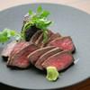 Jitan - 料理写真:熟成黒毛和牛のイチボステーキ