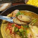 薬膳スープカレー・シャナイア - 野菜