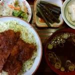 頓珍館 - ソースかつ丼(M)