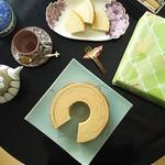 ケーキハウスミユク - 料理写真:バウムクーヘン