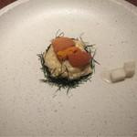 68384153 - 「Le riz」お米、ウニ、のり、パルメジャーノ、山芋
