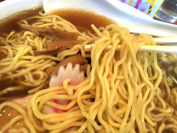赤坂味一 - 中華そば(大盛)