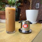 ベトナムカフェ CHOM CHOM - アイス ベトナムコーヒー