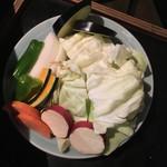 帝 - Bセットの焼き野菜