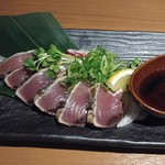 隠れ家個室 献 - 産直鮮魚 鰹のタタキ