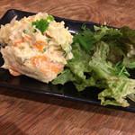 鰓呼吸 - 手作りポテトサラダ(わさび風味)