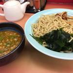 ラーメン山岡家 - 料理写真:濃厚海老醤油つけ麺