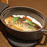 sincere - 〆のストウブご飯 鰯とフォアグラ