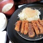 68391716 - 十勝和牛カツ定食 1,800円 2017/06