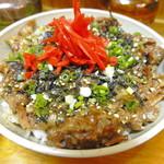 三丁目そば - 「豚丼(肉丼)」
